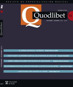 Quodlibet 54 - Cover